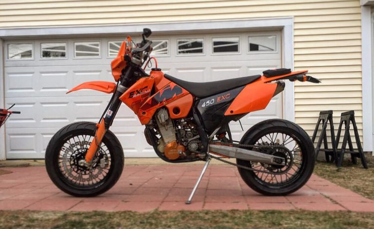 2006 ktm 450 exc supermoto herorr. Black Bedroom Furniture Sets. Home Design Ideas